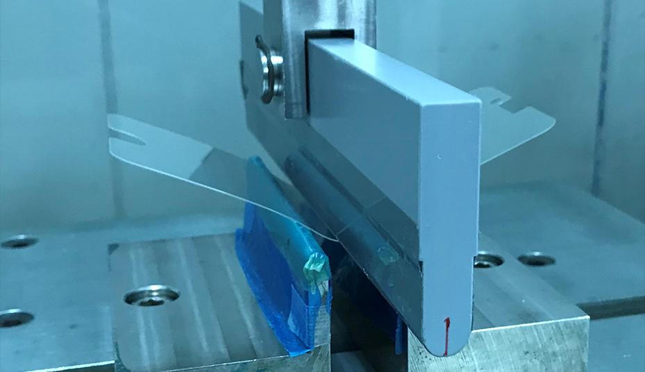 ケミカルで加工にすることで高強度ガラスを実現