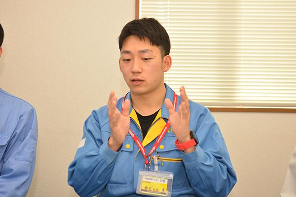 2016年入社  春名柾局